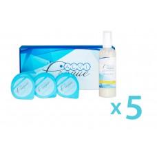 Kosmetikset für Carboxytherapiegeräte «Bright» von 5 Stück